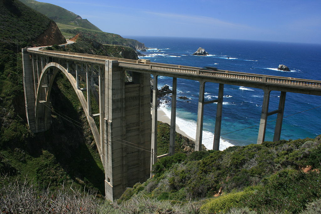 The Pacific Coast Highway is one of the best Motorcycle Road Trip Routes in North America ... photo by CC user ian mcwilliams on Flickr